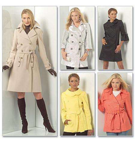 Trench Coat Mccalls 5525 Couturestuff