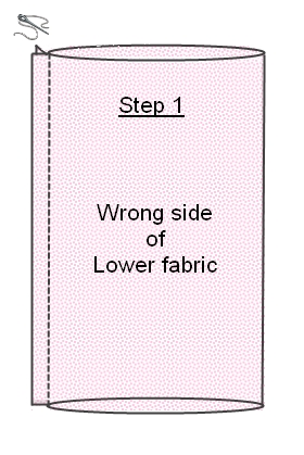 strapless dress tutorial