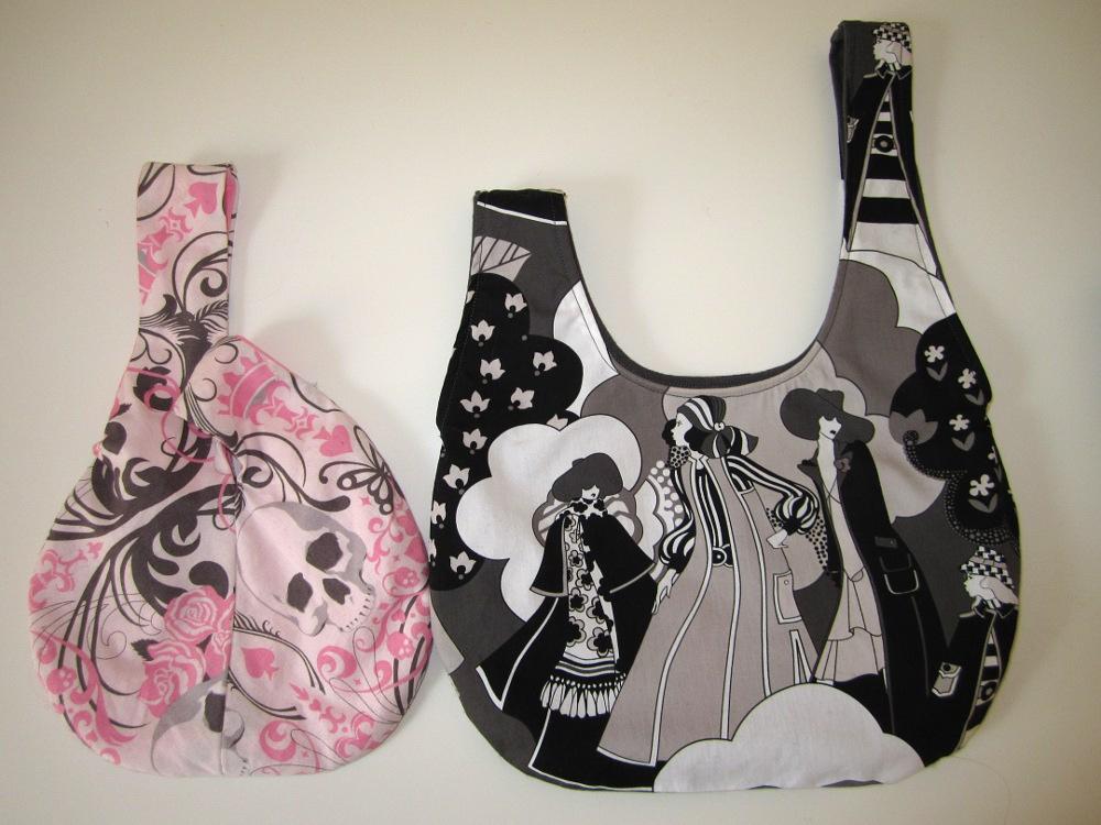 Pattern Japanese Knot Bag