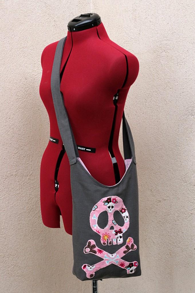 Sling bag worn